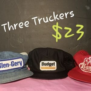 Trucker Hat 3Bundle